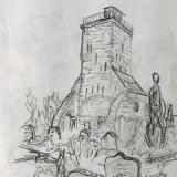 Ochsenturm, 2020 Skizze