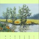 Bachlauf, 2009 Aquarell, 48x36
