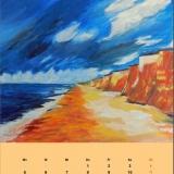 Steilküste, 2012 Acryll, 60x50