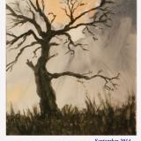 der Himmel bricht auf, 2010, Aquarell, 36x48