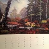 Waldlichtung, 2008, Bob Ross, 60x50