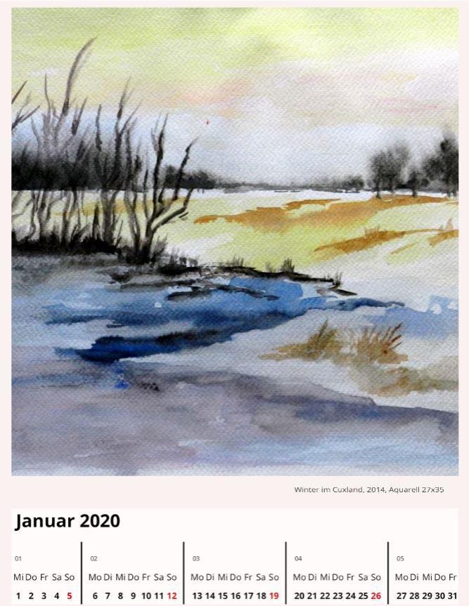 Winter im CuxlandJanuar 2020