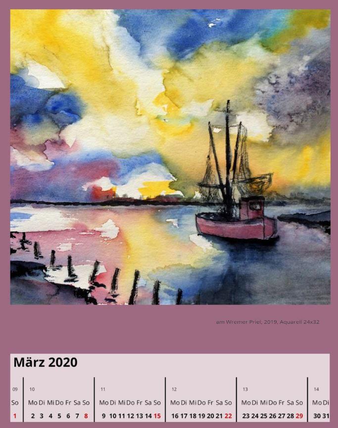 am Wremer PrielMärz 2020