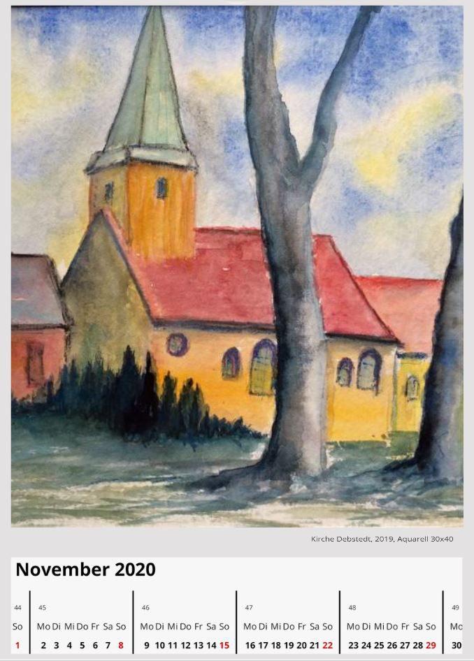 Kirche DebstedtNovember 2020