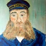 04-Postmeister-Joseph-Roulin-nach-Vincent-van-Gogh-2008-Öl-50x70