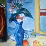 10-2010_blaue-Vase_nach-Cezanne