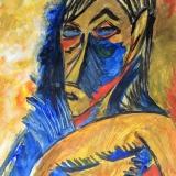 20-afrikanische-Maske-nach-Pablo-Picasso-2018-Acryl-28x32