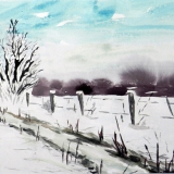 Winterlandschaft I, 2009