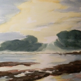 Wolkendurchbruch am Meer, 2009